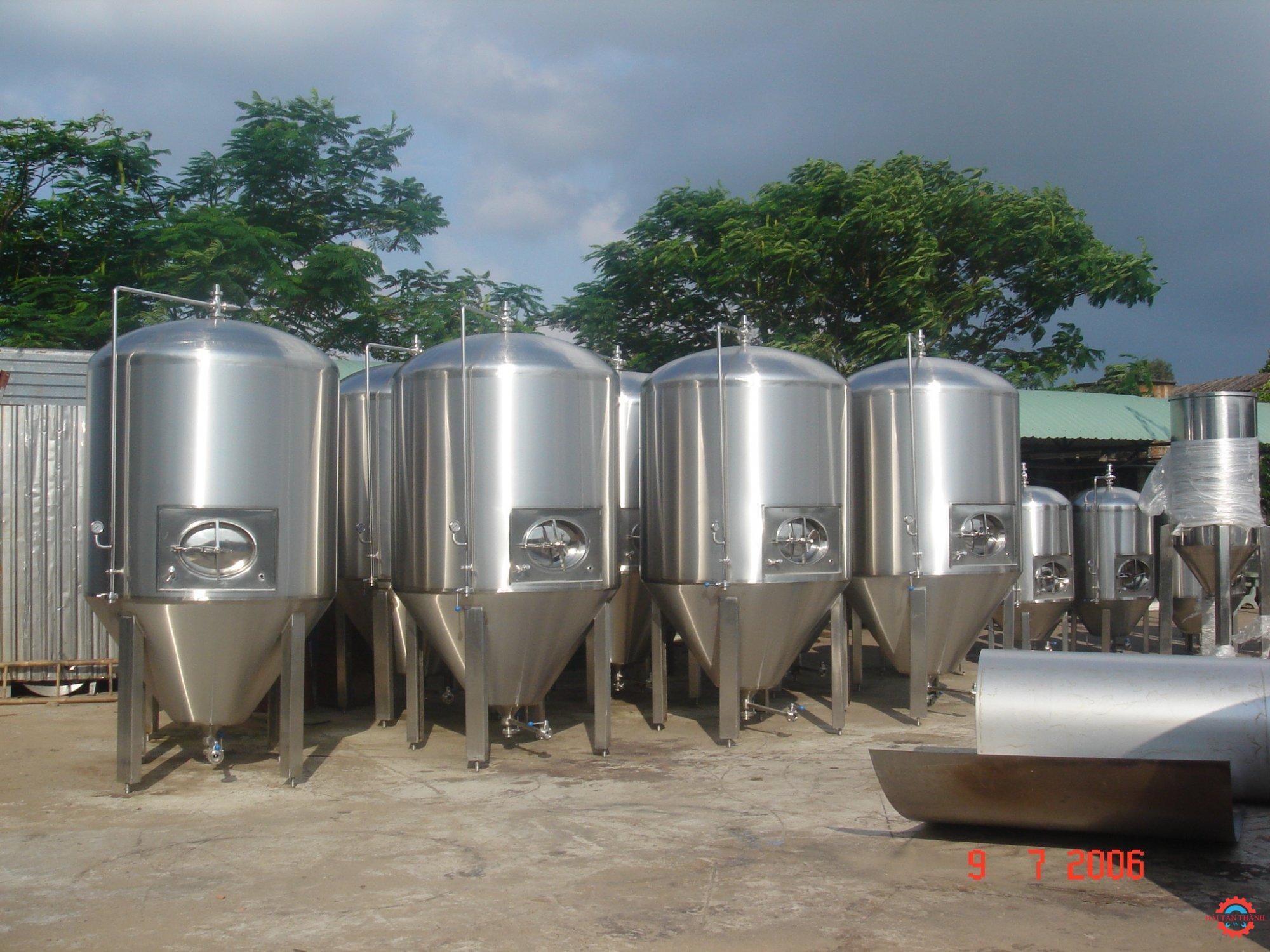 Gia công bồn chứa inox công nghiệp chất lượng uy tín giá rẻ tại Cần Thơ