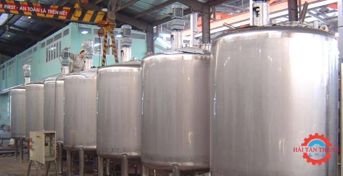 Nhận gia công bồn chứa inox công nghiệp chất lượng uy tín nhanh chóng