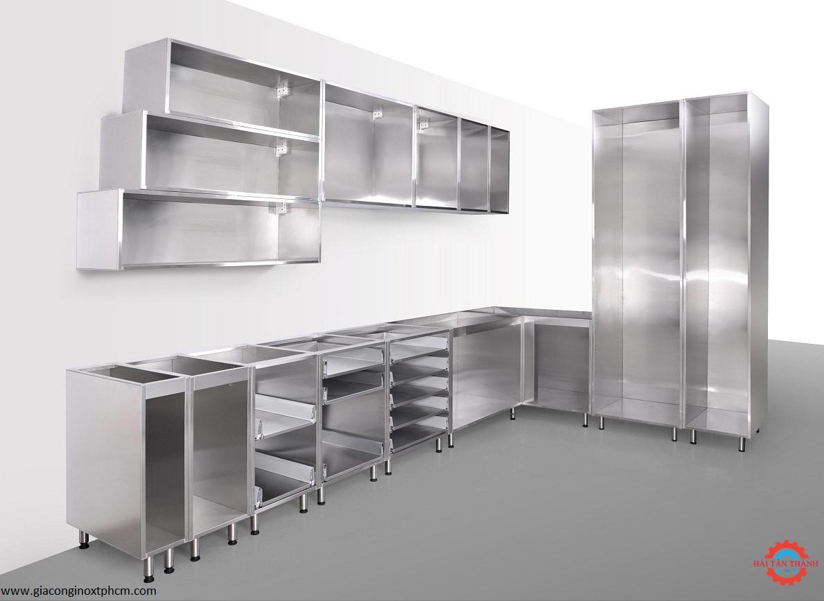 Dịch vụ gia công tủ bếp inox gia đình chất lượng cao giá rẻ tại Bến Tre
