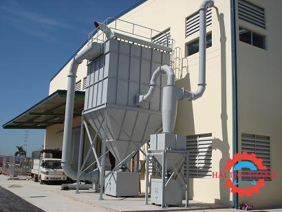 Hệ thống hút lọc bụi công nghiệp