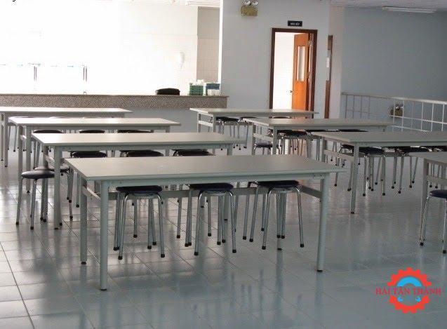Công ty gia công bàn ghế inox công nghiệp chất lượng uy tín giá rẻ tại Bình Chánh