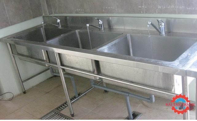 Chuyên gia công chậu rửa inox chất lượng theo yêu cầu của khách hàng tại quận 3