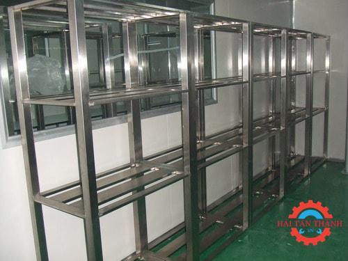 Nhận gia công kệ inox công nghiệp chất lượng cao tại Hóc Môn