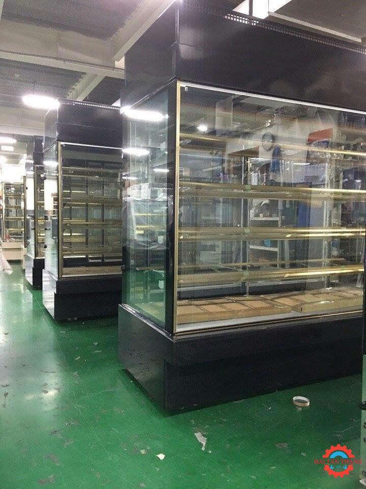 Gia công tủ kính inox cao cấp chất lượng tại Tân Bình
