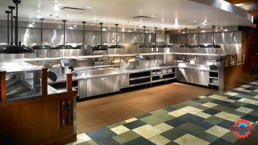 Gia công bếp inox công nghiệp cao cấp cho nhà hàng khách sạn